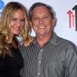 Sharon Case and father Jim Case — Stock Photo #50659255