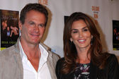 Rande Gerber, Cindy Crawford — Stock Photo