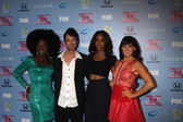 Lillie McCloud, Jeff Gutt, Kelly Rowland and Rachel Potter — Stock Photo