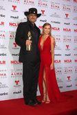 Robert Rodriguez and Alexa Vega — Stock Photo