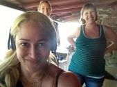 Jennifer Blanc-Biehn, Heather DeVan, Vanessa Cartier — Stock Photo