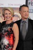 Emma Thompson and Tom Hanks — Stockfoto