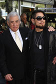 Dave Navarro and father — Stockfoto