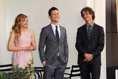 Chloe Grace Moretz, Joseph Gordon-Levitt, Jay Roach — Stock Photo