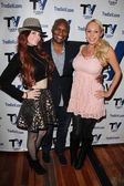 Phoebe Price, Marcellas Reynolds and Mary Carey — Stock Photo