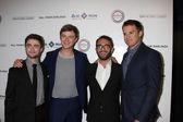 Daniel Radcliffe, Dane DeHaan, John Krokidas, Michael C. Hall — Stock Photo