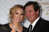 Janet Jones Gretzky, Wayne  Gretzky — Stock Photo