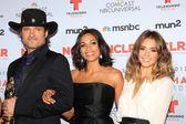 Robert Rodriguez, Rosario Dawson and Jessica Alba — Stock Photo