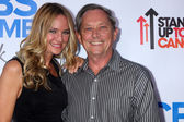 Sharon Case and father Jim Case — Stockfoto