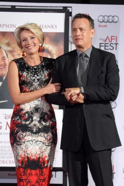 Emma Thompson and Tom Hanks