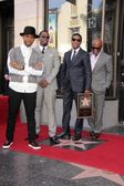 "Kenny ""Babyface"" Edmonds, Usher, Sean Combs, Antonio M. ""L.A."" Reid — Stock Photo"