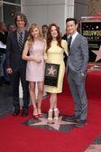 Jay Roach, Chloe Grace Moretz, Julianne Moore, Joseph Gordon-Levitt — Stock Photo