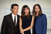 Jennifer Garner, Matthew McConaughey and Jared Leto — Stock Photo