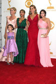 Julie Bowen, Aubrey Anderson-Emmons, Sarah Hyland, Sofia Vergara and Ariel Winter — Stock Photo