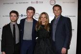 Daniel Radcliffe, Dane DeHaan, Jennifer Jason Leigh, Michael C. Hall — Stock Photo