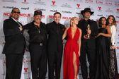 Danny Trejo, Daryl Sabara, Alexa Vega, Robert Rodriguez, Rosario Dawson and Jessica Alba — Stock Photo