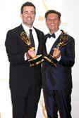 Carson Daly and Mark Burnett — Stock Photo
