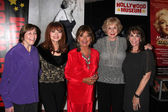 Ilene Graff, Geri Jewell, Judy Tenuta, Dawn Wells, Michael Learned, Kate Linder — Stock Photo