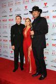 Daryl Sabara, Alexa Vega and Robert Rodriguez — Stock Photo