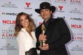 Jessica Alba and Robert Rodriguez — Stock Photo