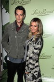 Chris French and Ashley Tisdale — Stock Photo