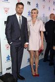 Joshua Jackson and Diane Kruger — Stock Photo