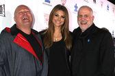 Michael Chiklis, Maria Menounos and Chuck Saftler — Stock Photo
