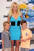 Britney Spears, Sean Preston Federline, Jayden James Federline — Stock Photo