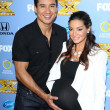 Mario Lopez and Courtney Laine Mazza — Stock Photo #50741299