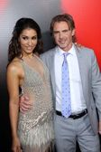 Janina Gavankar and Sam Trammell — Stock Photo