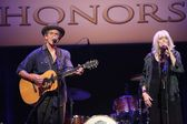 Rodney Crowell and Emmylou Harris — Stock Photo