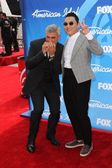 Taylor Hicks and Psy — Stock Photo