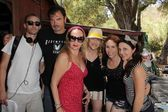Devon Biehn, Larry Wade Carrell, Jenise Blanc, Jennifer Blanc-Biehn, Hallie Jordan, Nichola Fynn — Stock Photo