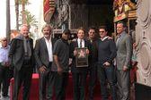 John Voight, Gore Verbinsky, Martin Lawrence, Jerry Bruckheimer, Johnny Depp, Tom Cruise, Bob Iger — Stock Photo