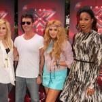 Demi Lovato, Simon Cowell, Paulina Rubio, Kelly Rowland — Stock Photo #50760723