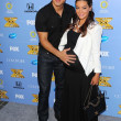 Mario Lopez and Courtney Laine Mazza — Stock Photo #50761931