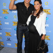 Mario Lopez and Courtney Laine Mazza — Stock Photo #50768571