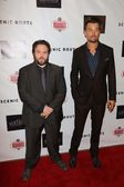 Dan Folger and Josh Duhamel — Stock Photo