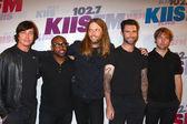 Matt Flynn, PJ Morton, James Valentine, Adam Levine and Mickey Madden of Maroon 5 — Foto de Stock
