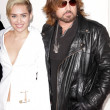 Постер, плакат: Miley Cyrus and Billy Ray Cyrus
