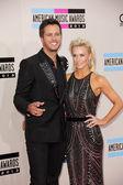 Luke Bryan and Caroline Bryan — Stock Photo