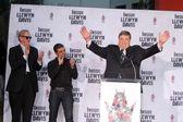 John Goodman, Oscar Isaac, T-Bone Burnett — Stock Photo