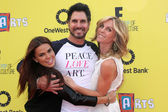 Don Diamont, Cindy Ambuehl, Rosa Blasi — Stock Photo