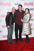 Chris Daughtry, Ace Young, Diana DeGarmo — ストック写真