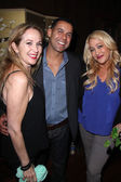Jennifer Blanc, Jon Huertas, Jenise Blanc — Stock Photo