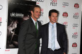 Peter Berg, Mark Wahlberg — Stock Photo