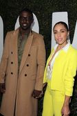 Lance Gross and Rebecca Spotted — Stock Photo