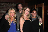 Jennifer Blanc, Devon Biehn, Jenise Blanc, Anthony Desalvadore — Stock Photo