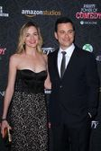 Jimmy Kimmel, Molly McNearney — Stock Photo