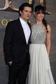Orlando Bloom and Evangeline Lilly — Stock Photo